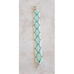 Bracelet perles de verre