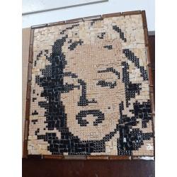 "Tableau mosaïque ""Marilyn"""